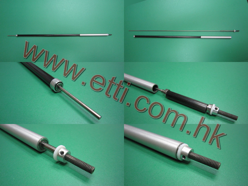 2.5mm Carbon Fiber Wire Drive c/w M4 Prop shaft(450mm)